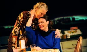 Stella Gonet and Suranne Jones in Top Girls.