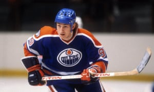 The Ice Man Cometh. Wayne Gretzky.