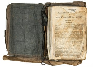 Cheap edition of David Copperfield taken by Captain Robert Falcon Scott and his men on the Terra Nova expedition to Antarctica in 1910. They read a chapter of this copy every night for 60 nights.