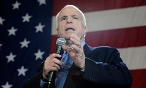 John McCain was brutalized in captivity in Vietnam for his sense of duty and honor.
