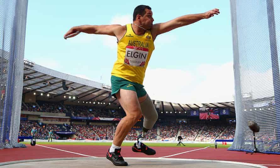 Australian athlete Don Elgin