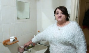 Tenant Linda works three jobs to pay her £950 rent.