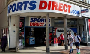 A Sports Direct outlet in Derby.