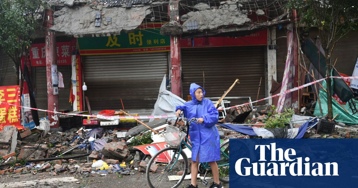 China struck by 6.0-magnitude earthquake – video