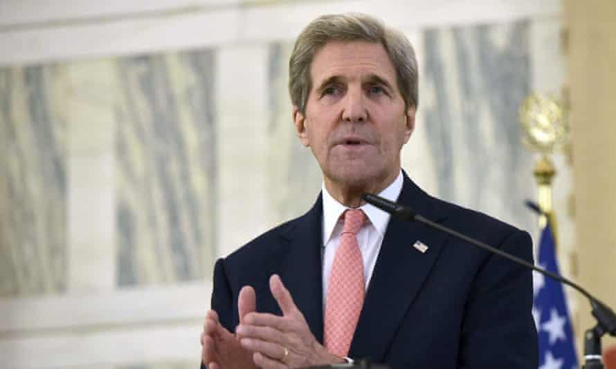 John Kerry has rejected James Hansen's criticism of the Paris talks. climate scientist cop 21