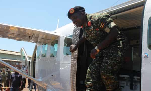 Former army commander Katumba Wamala is Uganda's minister of works and transport.