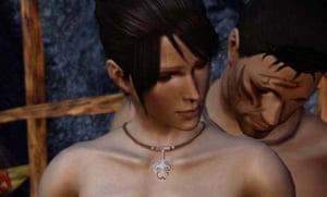 Romance is an important part of the Dragon Age series, but, as in most games, it is simplified into a goal rather than an emotion