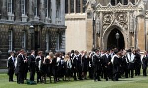 Cambridge University graduation