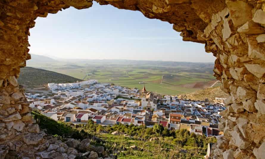 the village of teba near malaga in andalusia
