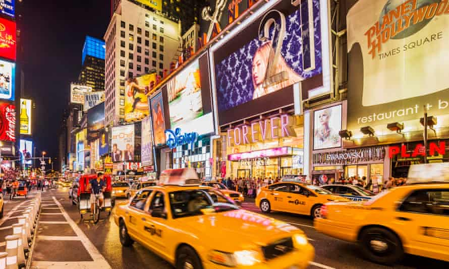 Times Square in Manhattan, New York