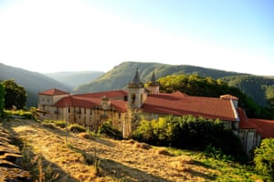 Monastery of Santo Estevo, Orense.