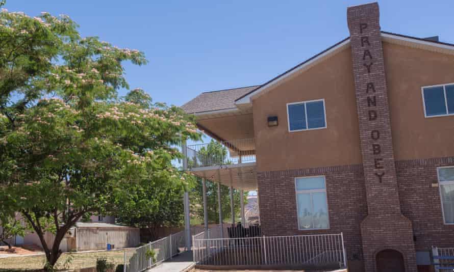 The 44-room mansion Warren Jeffs lived in has been turned into a refuge.