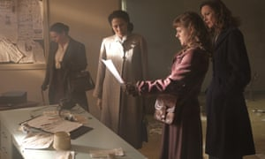 Julie Graham, Crystal Balint, Chanelle Peloso and Rachael Stirling in The Bletchley Circle: San Francisco. ITV