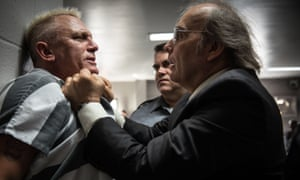 Big breakout … Daniel Craig and Dwight Yoakam in Logan Lucky.