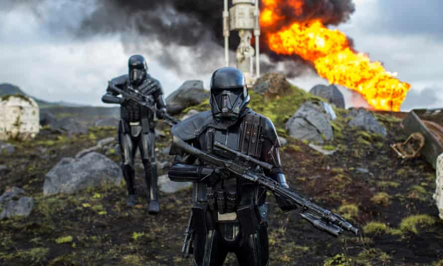 Same skit, different day … Rogue One: A Star Wars Story.