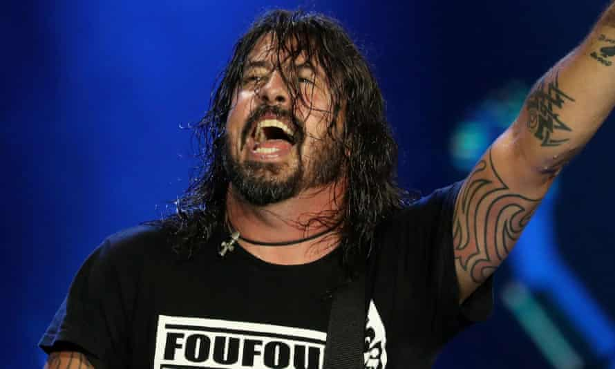 Dave Grohl performing in 2019.