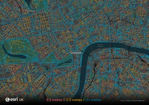 London zoom map.