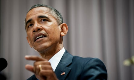 President Barack Obama earlier this month delivers a speech on the Iran deal at the American University's school of international service in Washington DC.