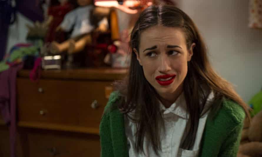 A talentless clown … Miranda Sings in Haters Back Off.