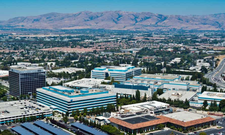 Intel's headquarters in Santa Clara, California, is an example of subcontracting's effect on workers, according to one union spokeswoman: 'They're on their third food service contractor in two years.'