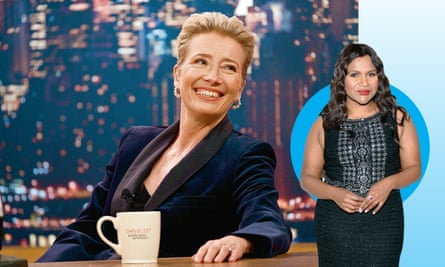 How Mindy Kaling S Late Night Exposes Tv S Women Less Writers Rooms Emma Thompson The Guardian