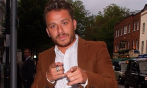 Dapper Laughs aka Daniel O'Reilly.