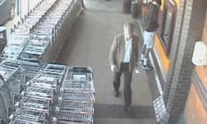 Adrian Greenwood was last seen at a Sainsbury's supermarket.