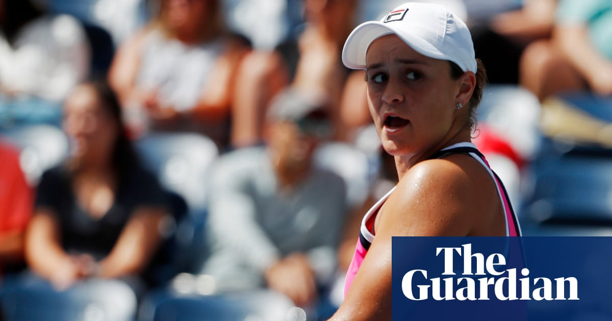 Misfiring Ash Barty out of US Open after straight-set defeat