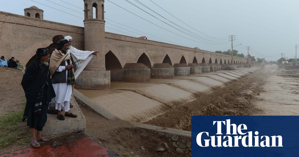 World weatherwatch: flash flooding in Afghanistan, as Europe warms up