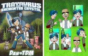 The first DanTDM book is a graphic novel rather than a standard annual.