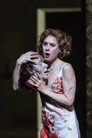 Malin Byström in the title role of Salome at the Royal Opera House.