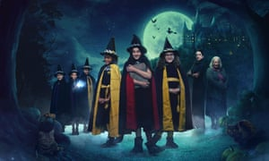 The cast of the 2017 TV adaptation of The Worst Witch books, with Mildred Hubble played by Game of Thrones actor Bella Ramsey.