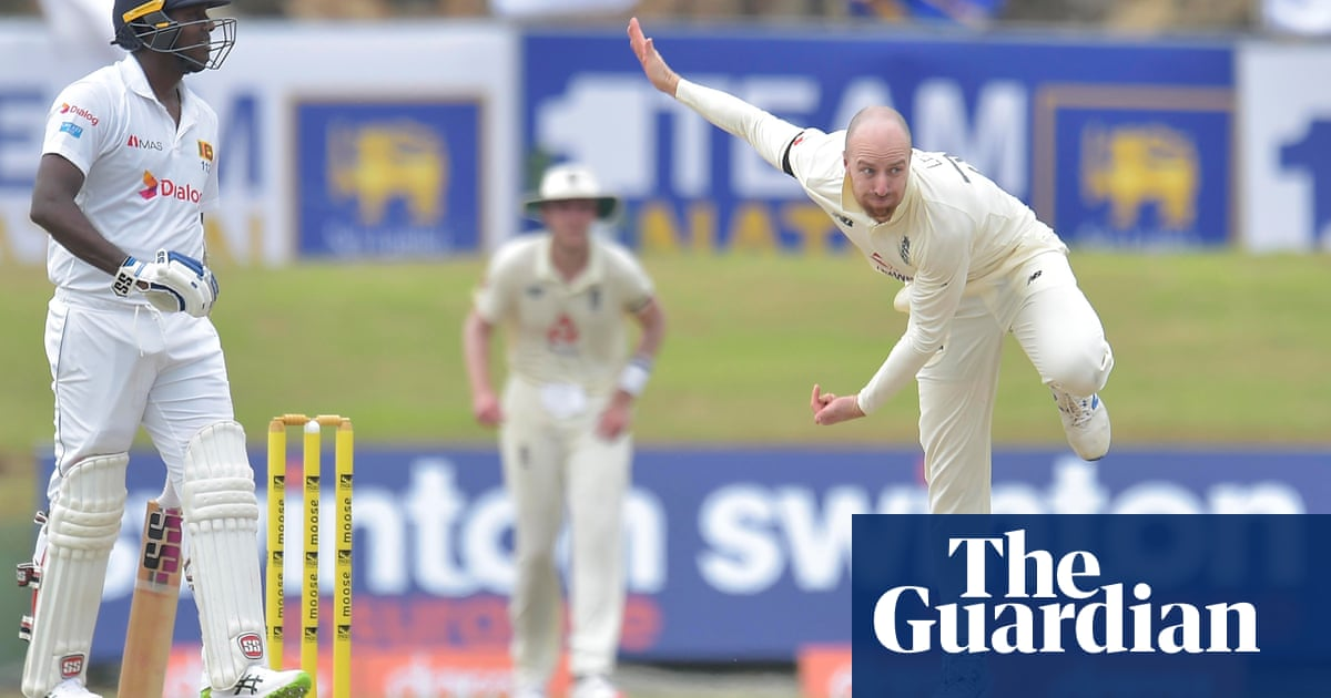 Englands Jack Leach says he is spurred on by his year in Test wilderness