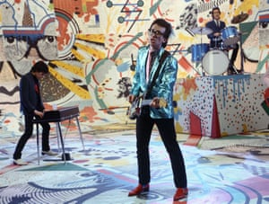 Elvis Costello on The Kenny Everett Show in 1975