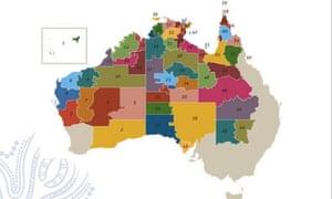 A map of communities where the Community Development Program applies