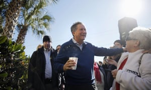 Kasich in the Palmetto state Thursday.