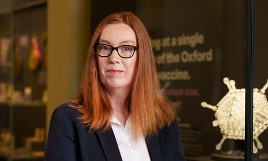Prof Dame Sarah Gilbert