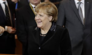 Angela Merkel in Munich