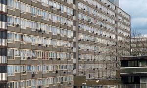 Heygate Estate in Walworth, London