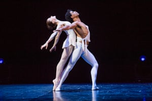 Carlos Acosta with Marianela Nuñez in The Classical Farewell.
