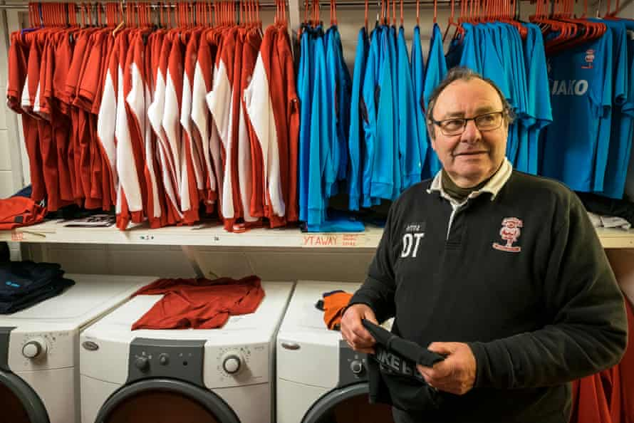 Dick Tacey, Lincoln City's kit man.