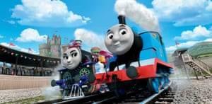 Ashima and Thomas from Thomas the Tank Engine: The Great Race