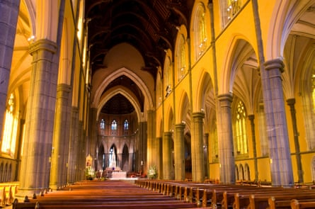 The interior of St Patrick's cathedral