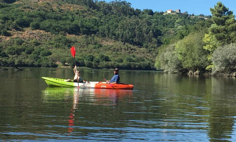 Messing about on the river: kayaking at Peneda-Gerês, also a wild swimming paradise.