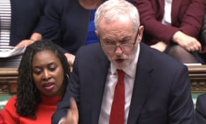 Corbyn referred to the government's housing policies as 'accounting tricks and empty promises'.