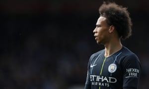 Manchester City's Leroy Sané