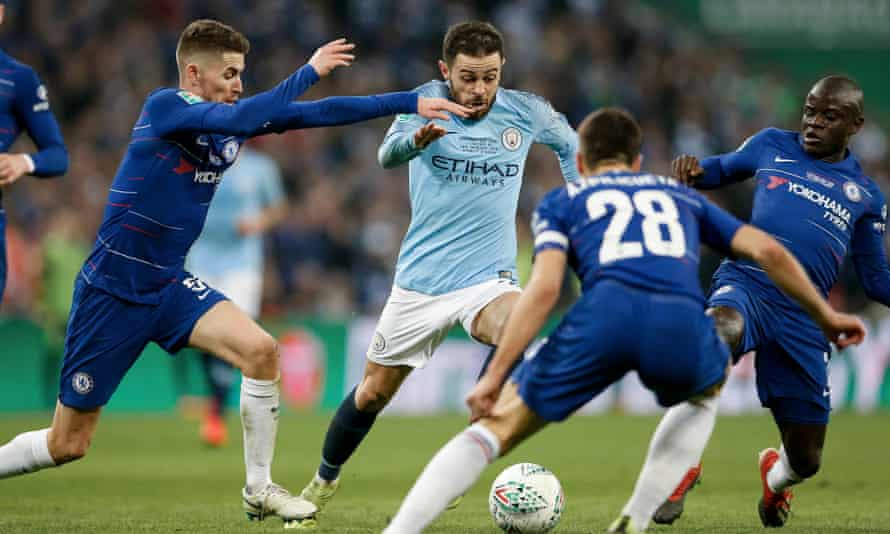 Chelsea v Manchester City, Carabao Cup final