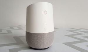 A google Home device