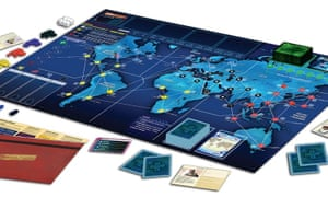 Pandemic Legacy, ready to play.