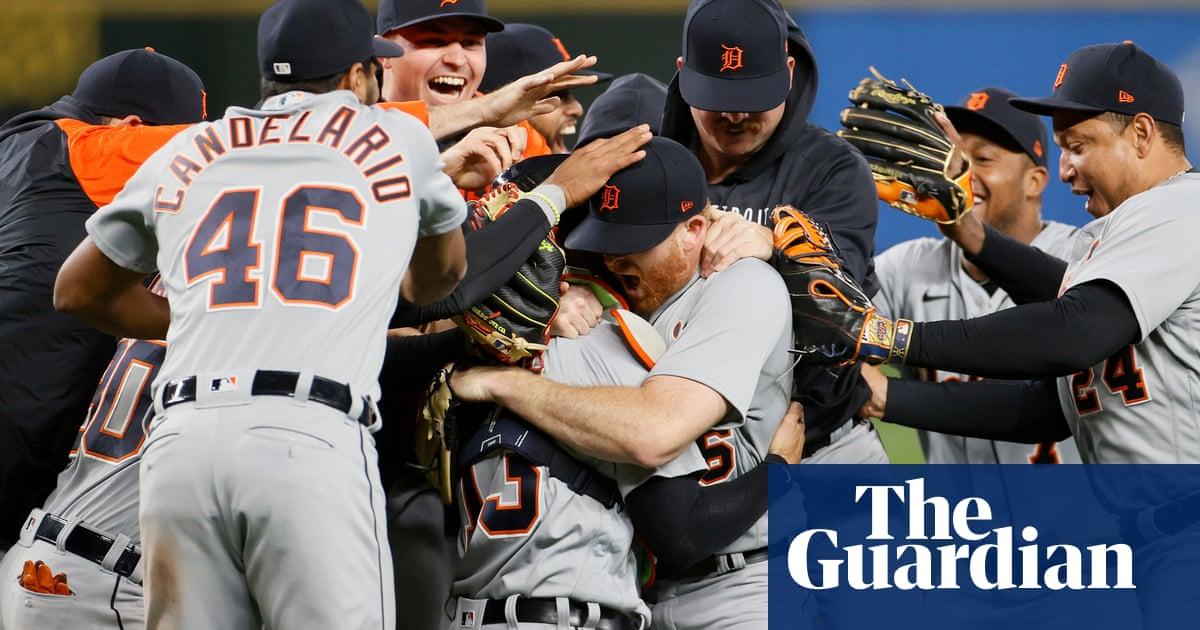 Detroit's Spencer Turnbull twirls fifth no-hitter of MLB season against Seattle